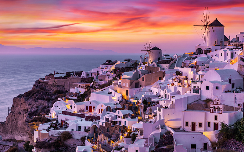 10 Best Places To See The Sun Set Around The World Blog Santorini, Greece