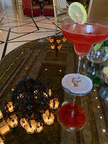 Jagdish And Rav's Amazing Mauritius And Dubai Honeymoon Jumeriah Zabeel Saray Cocktails