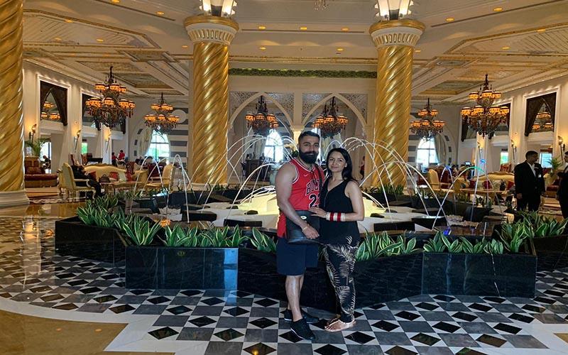 Jagdish And Rav's Amazing Mauritius And Dubai Honeymoon Jumeriah Zabeel Saray Fountain