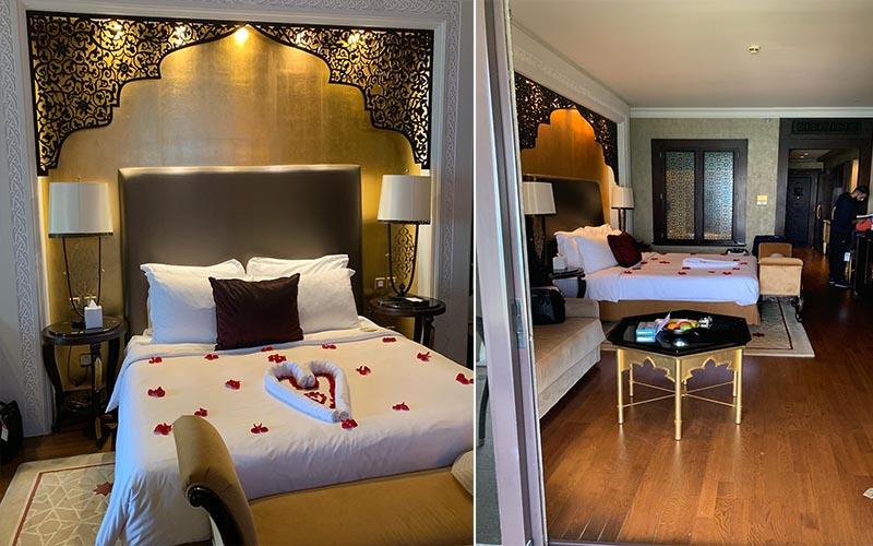Jagdish And Rav's Amazing Mauritius And Dubai Honeymoon Jumeriah Zabeel Saray Room