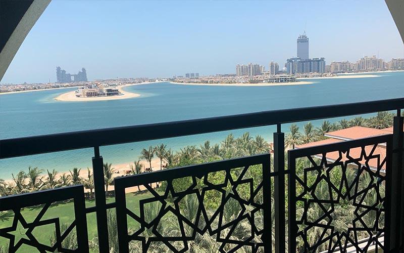 Jagdish And Rav's Amazing Mauritius And Dubai Honeymoon Jumeriah Zabeel Saray Room Balcony Views