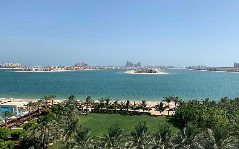 Jagdish And Rav's Amazing Mauritius And Dubai Honeymoon Jumeriah Zabeel Saray Views