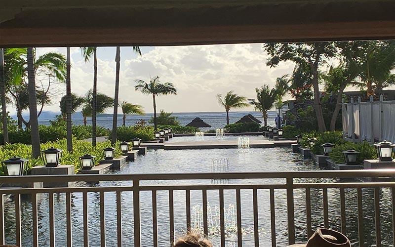 Jagdish And Rav's Amazing Mauritius And Dubai Honeymoon St Regis Mauritius Reception Views