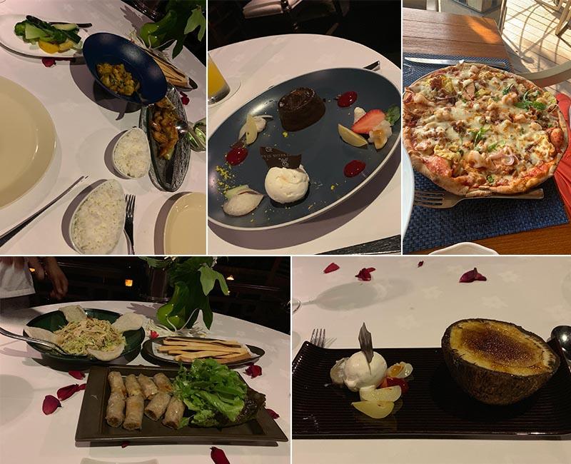 Jagdish And Rav's Amazing Mauritius And Dubai Honeymoon St Regis Mauritius Restaurant And Food
