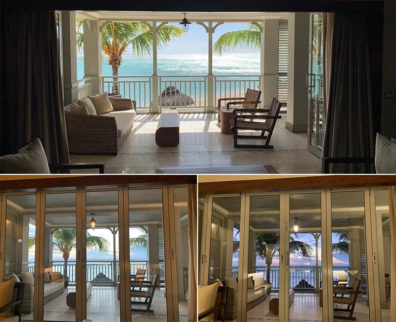 Jagdish And Rav's Amazing Mauritius And Dubai Honeymoon St Regis Mauritius Room Balcony Views