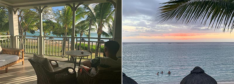 Jagdish And Rav's Amazing Mauritius And Dubai Honeymoon St Regis Mauritius Room Balcony Views1