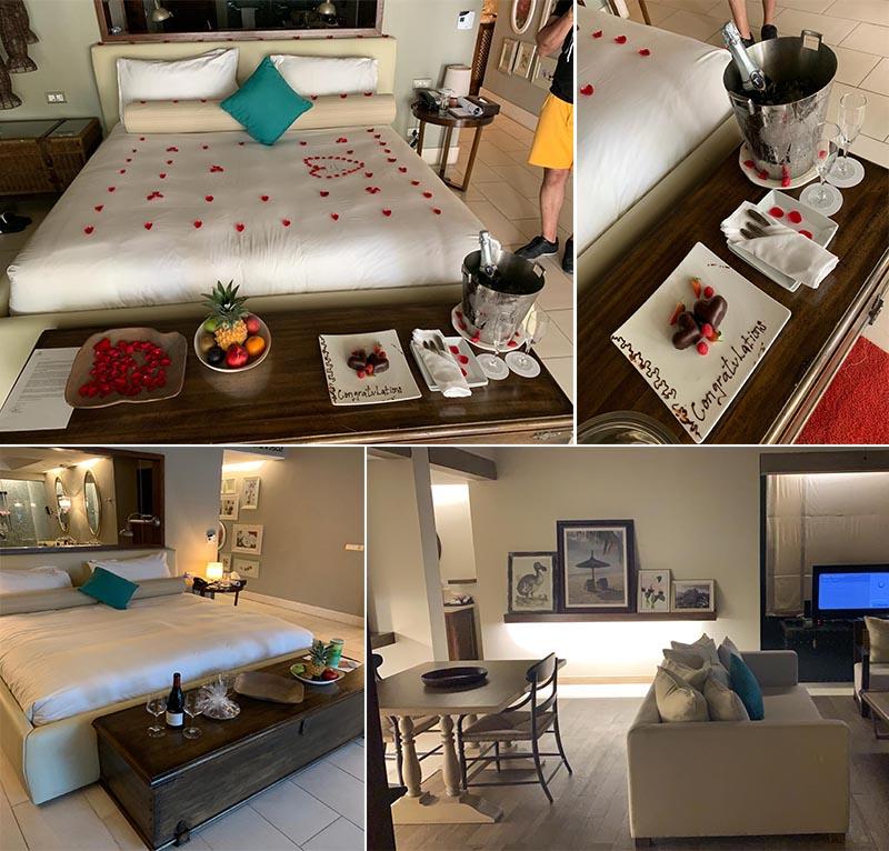 Jagdish And Rav's Amazing Mauritius And Dubai Honeymoon St Regis Mauritius Room
