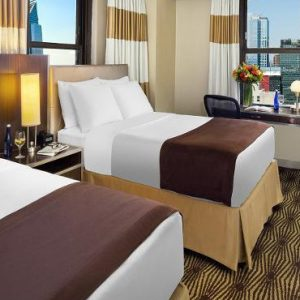 New York Honeymoon Packages The New Yorker, Wyndham Family Terrace Suite