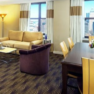 New York Honeymoon Packages The New Yorker, Wyndham Premium Terrace Suite1