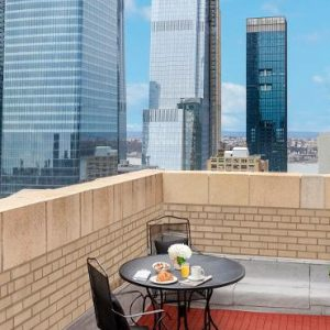 New York Honeymoon Packages The New Yorker, Wyndham Queen Terrace Suite1