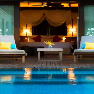 Seychelles Honeymoon Packages The H Resort Beau Vallon Beach Beach Pool Villas4