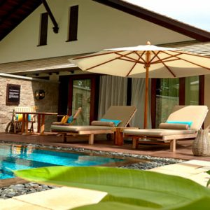 Seychelles Honeymoon Packages The H Resort Beau Vallon Beach Beach Pool Villas8