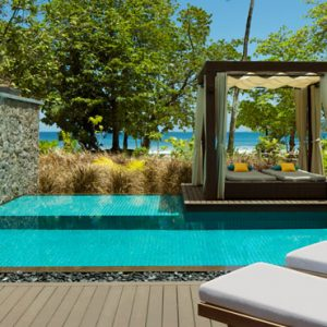 Seychelles Honeymoon Packages The H Resort Beau Vallon Beach Beach Pool Villas9