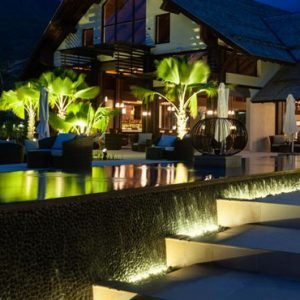 Seychelles Honeymoon Packages The H Resort Beau Vallon Beach Hotel Exterior At Night