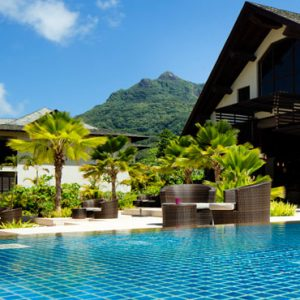 Seychelles Honeymoon Packages The H Resort Beau Vallon Beach Pool Area1