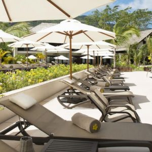 Seychelles Honeymoon Packages The H Resort Beau Vallon Beach Pool Loungers1