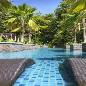 Seychelles Honeymoon Packages The H Resort Beau Vallon Beach Pool1
