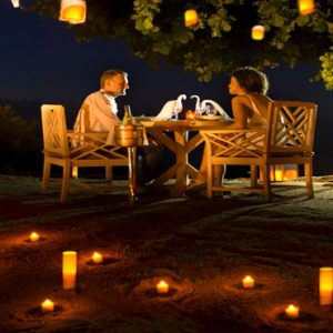 Seychelles Honeymoon Packages The H Resort Beau Vallon Beach Romantic Private Dining