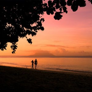 Seychelles Honeymoon Packages The H Resort Beau Vallon Beach Sunset