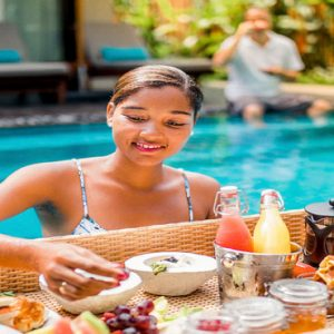 Seychelles Honeymoon Packages The H Resort Beau Vallon Beach Villa Floating Breakfast In Pool