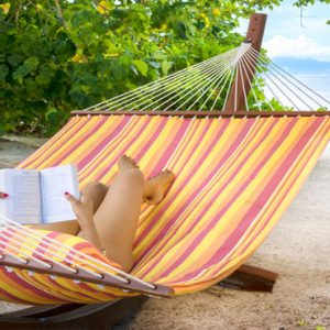 Seychelles Honeymoon Packages The H Resort Beau Vallon Beach Woman On Hammock