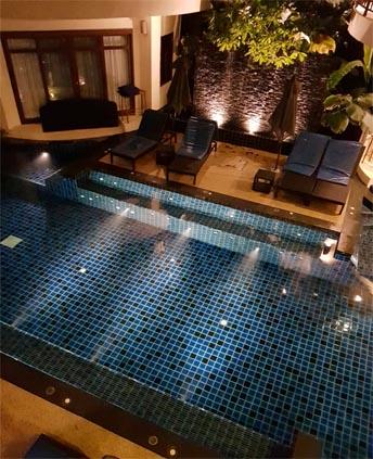 Susan And Lee's Fabulous Thailand And Maldives Honeymoon Bangsak Village Khao Lak Pool