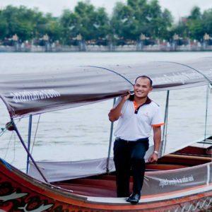 Thailand Honeymoon Packages Anantara Riverside Bangkok Resort Boat