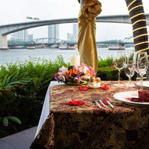 Thailand Honeymoon Packages Anantara Riverside Bangkok Resort Dining By Design