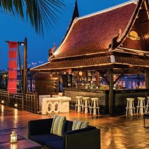 Thailand Honeymoon Packages Anantara Riverside Bangkok Resort Longtail Bar