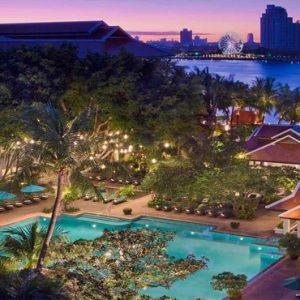 Thailand Honeymoon Packages Anantara Riverside Bangkok Resort Overview