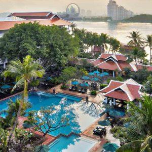 Thailand Honeymoon Packages Anantara Riverside Bangkok Resort Overview1