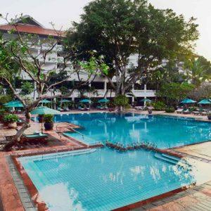 Thailand Honeymoon Packages Anantara Riverside Bangkok Resort Pool