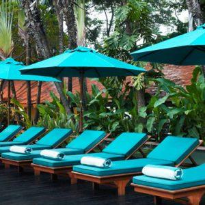 Thailand Honeymoon Packages Anantara Riverside Bangkok Resort Pool Deck