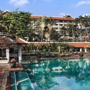 Thailand Honeymoon Packages Anantara Riverside Bangkok Resort Pool1