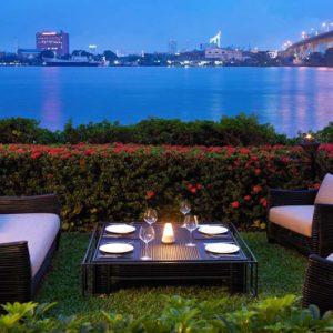 Thailand Honeymoon Packages Anantara Riverside Bangkok Resort Trader Vic Garden