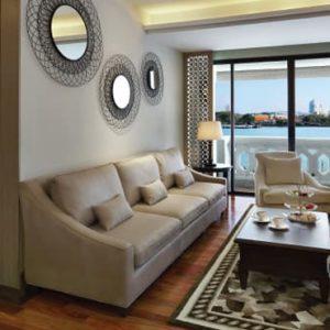 Thailand Honeymoon Packages Anantara Riverside Bangkok Resort Two Bedroom River View Chao Phraya Suite3