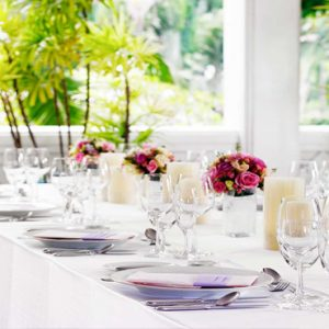 Thailand Honeymoon Packages Anantara Riverside Bangkok Resort Wedding Reception
