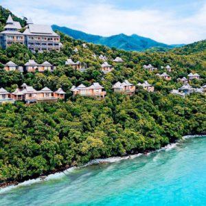 Thailand Honeymoon Packages Santhiya Koh Yao Yai Aerial View
