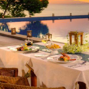 Thailand Honeymoon Packages Santhiya Koh Yao Yai Private Dinner At Saaitara Restaurant