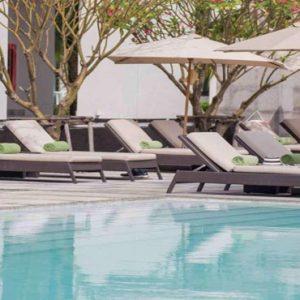 Thailand Honeymoon Packages U Sathorn Bangkok Pool