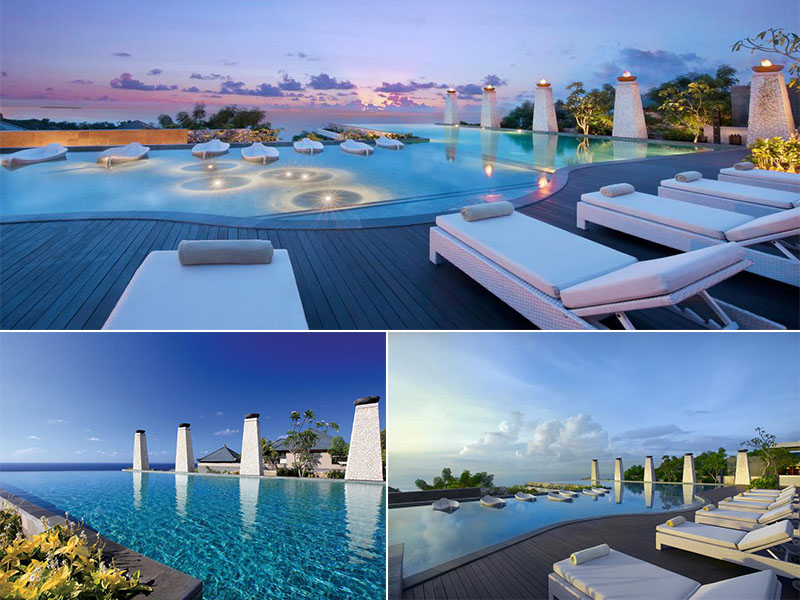 Top Infinity Pool In Bali Banyan Tree Ungasan