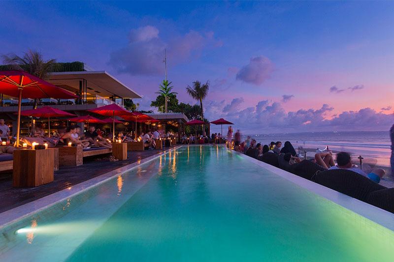 Top Infinity Pool In Bali Ku De Ta