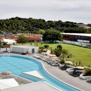 France Honeymoon Packages Beachcomber French Riviera Tennis Pool