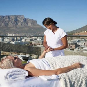 South Africa Honeymoon Packages The Silo Cape Town Sky Terrace Spa Treatment