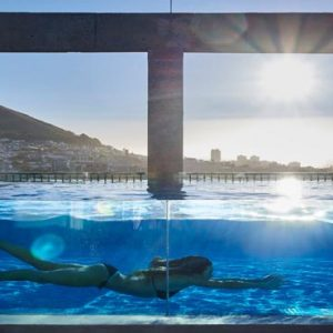 South Africa Honeymoon Packages The Silo Cape Town Women In Pool