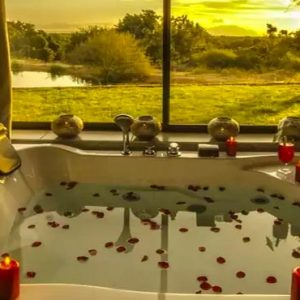 South Africa Honeymoon Packages Elandela Private Game Reserve Bath With A View