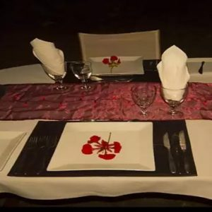 South Africa Honeymoon Packages Elandela Private Game Reserve Dining