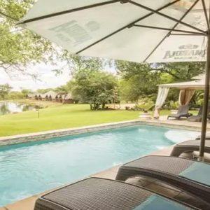 South Africa Honeymoon Packages Elandela Private Game Reserve Pool