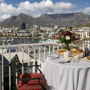 South Africa Honeymoon Packages The Commodore South Africa Breakfast With A View