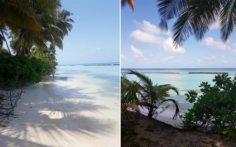 Susan And Lee's Fabulous Thailand And Maldives Honeymoon Kuramathi Island Ocean Views1